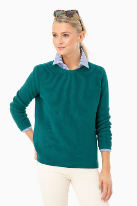 525 America Deep Teal Emma Shaker Sweater