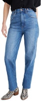 Madewell Tab High Waist Straight Jeans
