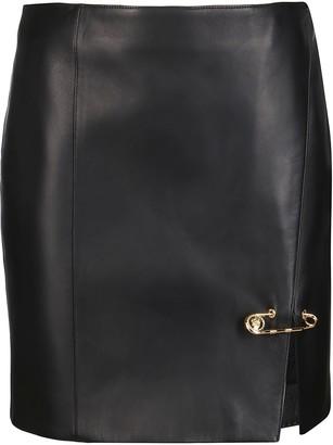 Versace Safety Pin Skirt