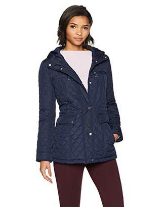 Tommy Hilfiger Women's Diamond Quilt with Hood