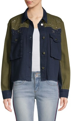 Lea & Viola Western Long-Sleeve Cotton Jacket