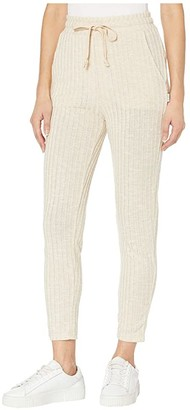 RVCA Twilight Knit Lounge Pants (Sand) Women's Casual Pants