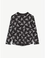 Boy London Eagle logo cotton long sleeve T-shirt 3-16 years