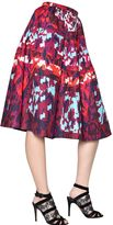 Peter Pilotto Long Emma Waffle Silk Skirt
