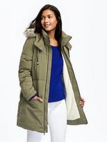 Old Navy Frost-Free Hooded Down-Fill Parka for Women