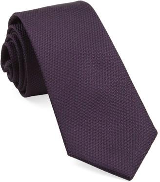 The Tie BarThe Tie Bar Eggplant Grenafaux Tie