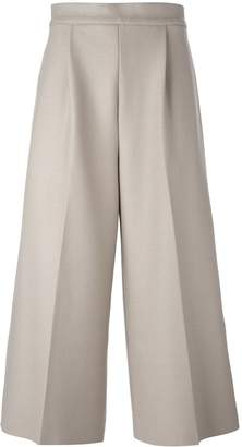 08sircus Cropped Wide Leg Trousers