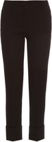 Goat Cooper slim-leg wool-crepe trousers