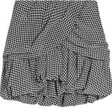 Staletta houndstooth mini skirt