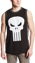 Marvel Men's Punisher The Castle Basketball Jersey T-Shirt