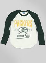 Junk Food Clothing Kids Boys Nfl Green Bay Packers Raglan-sugar/hunter-l