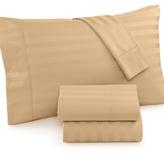 Charter Club CLOSEOUT! Damask Stripe Standard Pillowcase Pair, 500 Thread Count 100% Pima Cotton