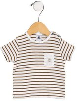 Petit Bateau Boys' Striped Single Pocket T-Shirt