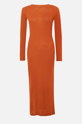 French Connection Solid Meadow Jersey Maxi Dress
