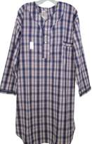 Benefit Wear Mens Adaptive Back Snap Nightshirt- Prints (M)