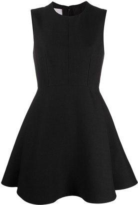Valentino Sleeveless Flared Dress