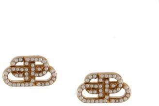 Balenciaga BB XS stud earrings