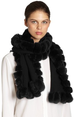 Glamour Puss Oblong Fur Scarf