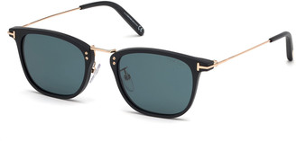 Tom Ford Men's Beau Metal and Plastic Sunglasses