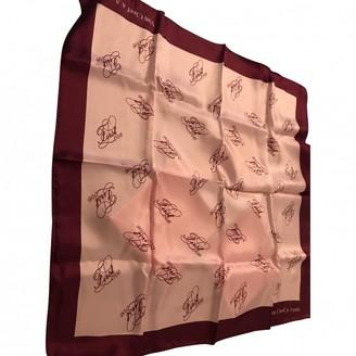 Van Cleef & Arpels Pink Silk Silk handkerchief