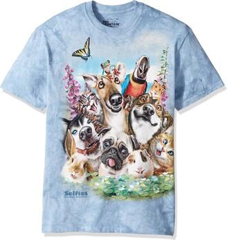 The Mountain Mens Pet Selfie T Shirt