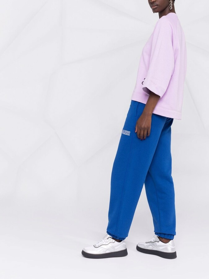 Thumbnail for your product : Ganni Software Isoli track pants