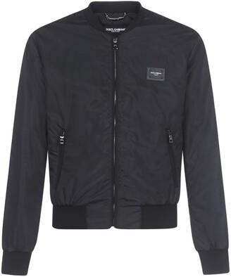 Dolce & Gabbana Nylon Con Zip Jacket