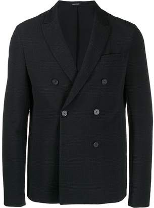 Emporio Armani casual double-breast blazer