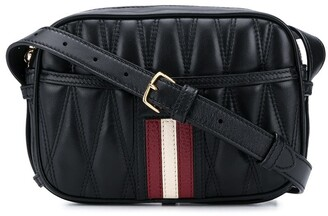Bally Quilted Cross-Body Bag