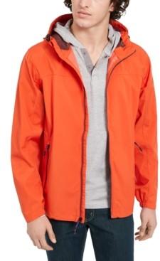 Hawke & Co Men's All-Season Lightweight Stretch Hooded Rain Jacket