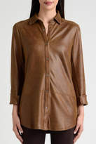 Lynn Ritchie Faux Leather Shirt