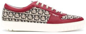 Salvatore Ferragamo Stud Sole Sneakers
