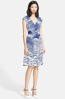 Tracy Reese Shirred Jersey Dress