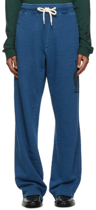 Lanvin Navy French Terry Trousers
