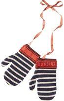 Scotch & Soda Knitted Stripe Mittens