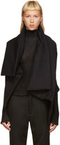Ann Demeulemeester Black Lucian Vest