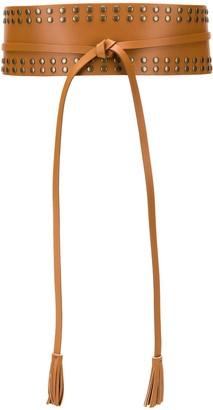 Twin-Set Studded Waist Belt