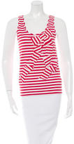 Kate Spade Stripe Sleeveless Top
