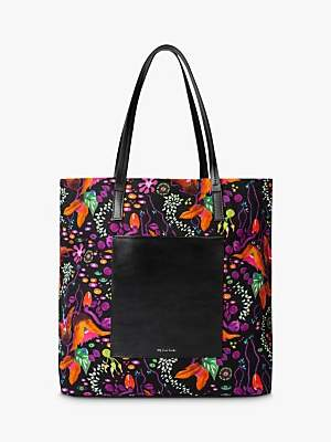 Paul Smith Earthling Floral Canvas Tote Bag, Multi