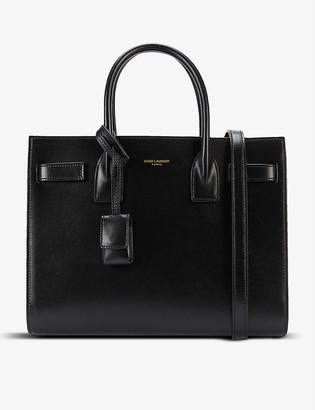Saint Laurent Sac de Jour Baby leather top-handle bag