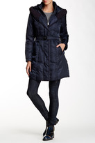 Vince Camuto Midi Down Hooded Jacket