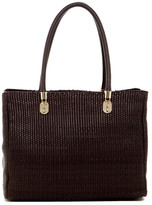 Cole Haan Benson Woven Leather Tote
