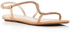 Schutz Women's Georgia Lee Embellished Slingback Sandals