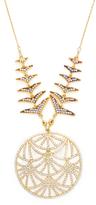 Azaara Embellished CZ Pendant Necklace