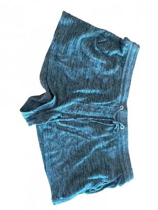 Etoile Isabel Marant Green Cotton Shorts for Women