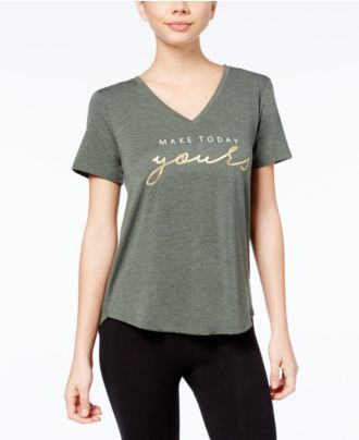 Alfani Graphic Pajama T-Shirt, Created for Macy's