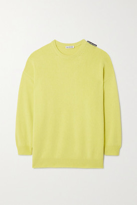 Balenciaga Cashmere Sweater - Green