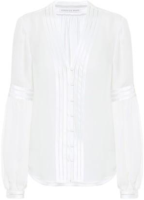 Veronica Beard Yumi silk blouse