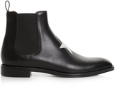 Givenchy Star-appliqué leather chelsea boots