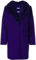 P.A.R.O.S.H. appliqué collar coat
